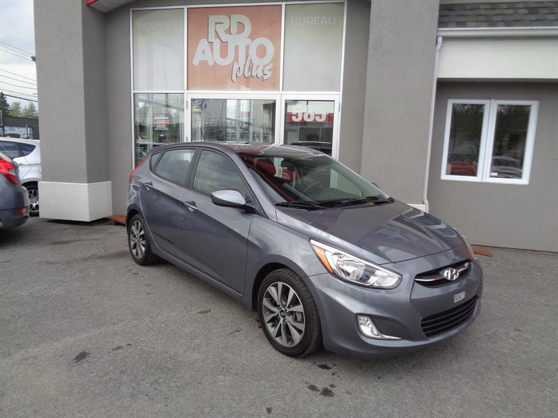 Hyundai Accent Hatchback 2017 SE #8931