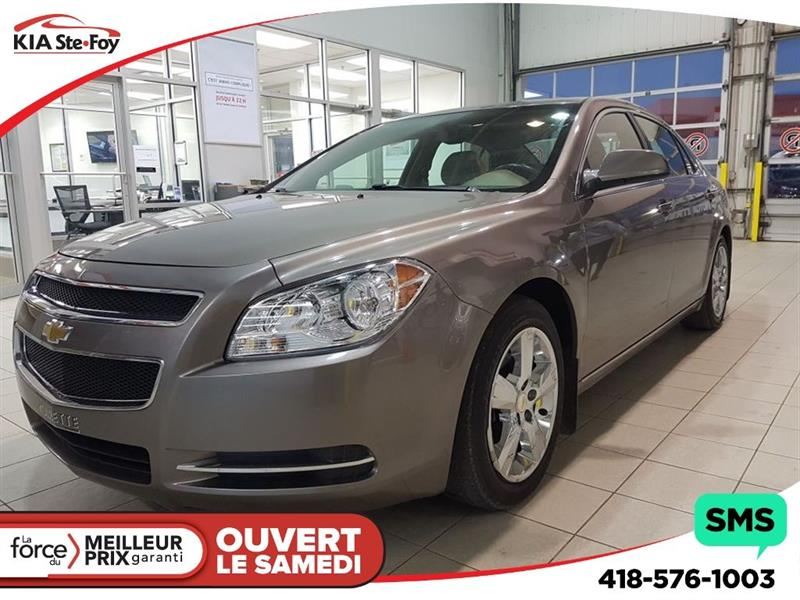 2011 Chevrolet Malibu LT**PLATINUM**CUIR**TOIT**MAGS** #161739A