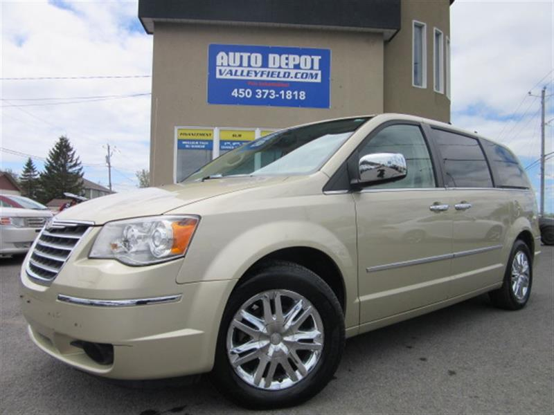 Chrysler Town & Country 2010 LIMITED NAVIGATION, CUIR, TOIT OUVRANT, MAGS #MM010