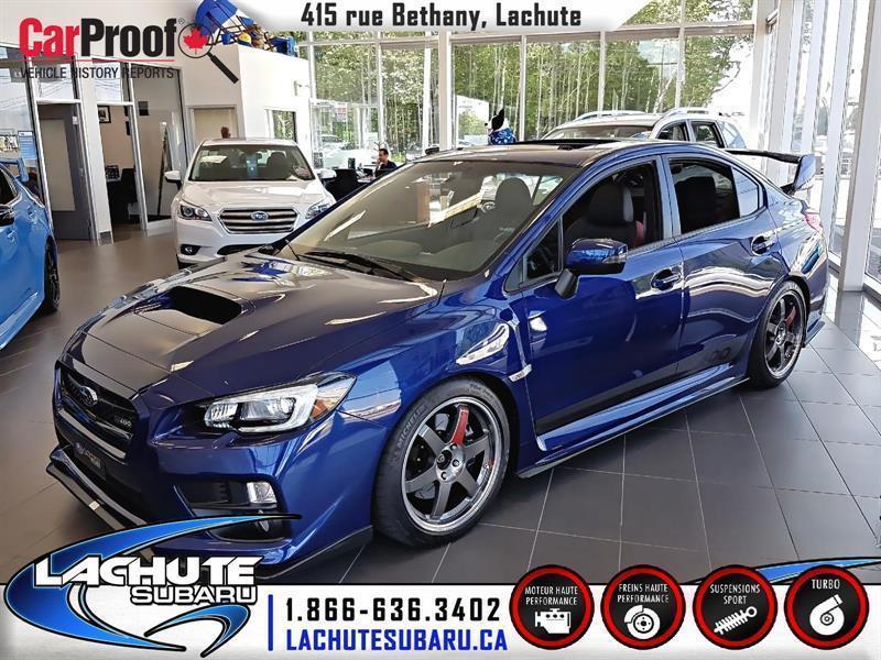 Subaru Wrx Sti 2016 Base #16-072