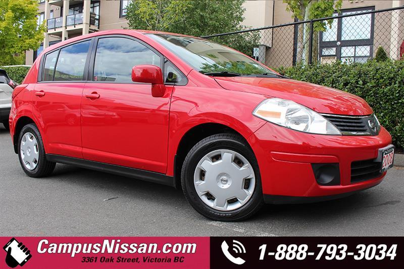 2008 Nissan Versa S 6spd  #A6993A