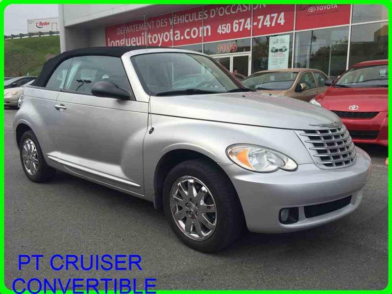 Chrysler PT Cruiser 2007 CONVERTIBLE TOURING 2DR CONV TOURING IMPECCABLE !! #11410B