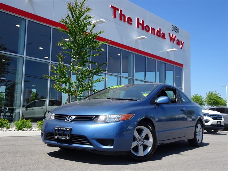 2007 Honda Civic 2-dr EX #17-380AA