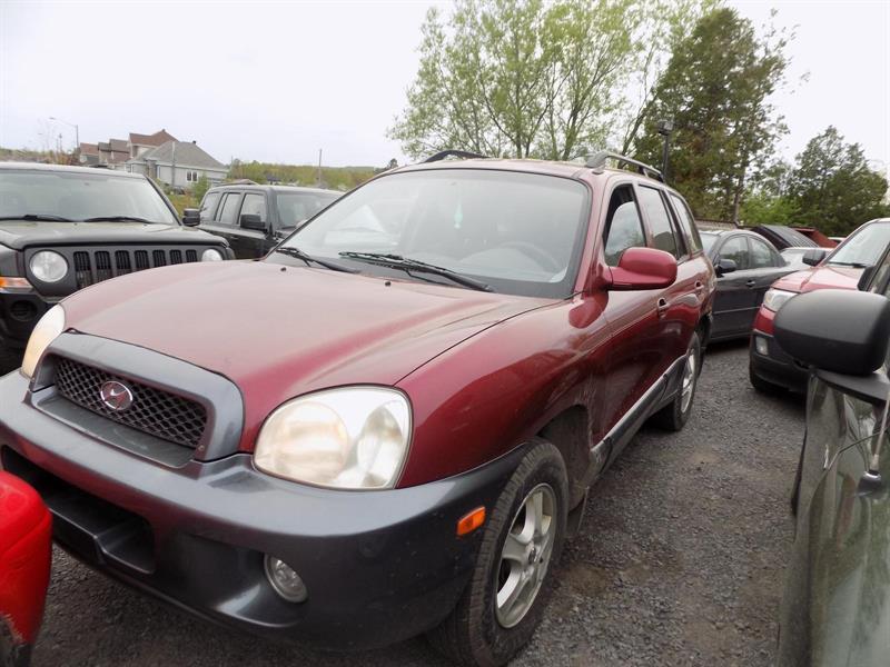 Hyundai Santa Fe 2004 GL Base 2WD #PAT6905