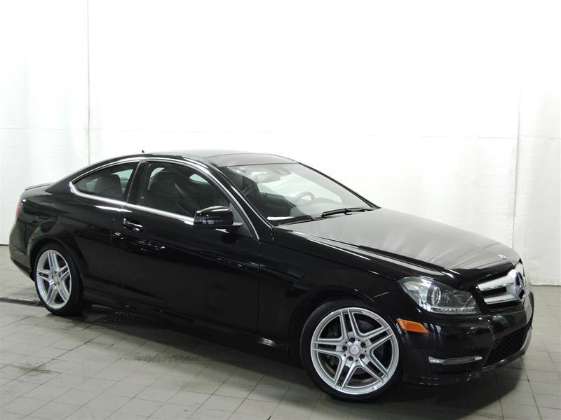 Mercedes-Benz C350 2013 4MATIC Coupe CERTIFIÉ #U17-081