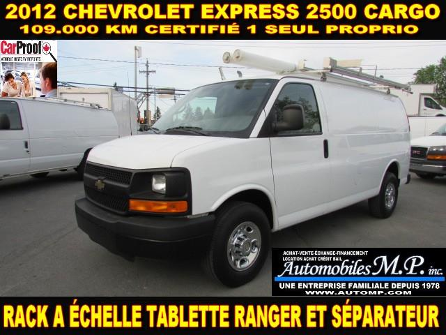 Chevrolet Express 2500 2012 CARGO 109.000 KM VOIR ÉQUIPEMENT #384