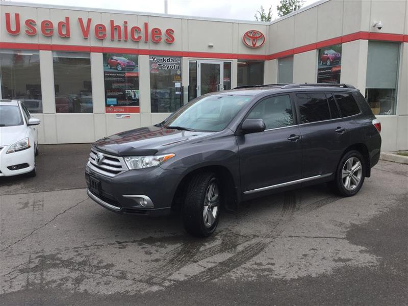 2012 Toyota Highlander SPORT, LEATHER, SUNROOF, HEATED SEATS, 1 OWNER LEA #L6464