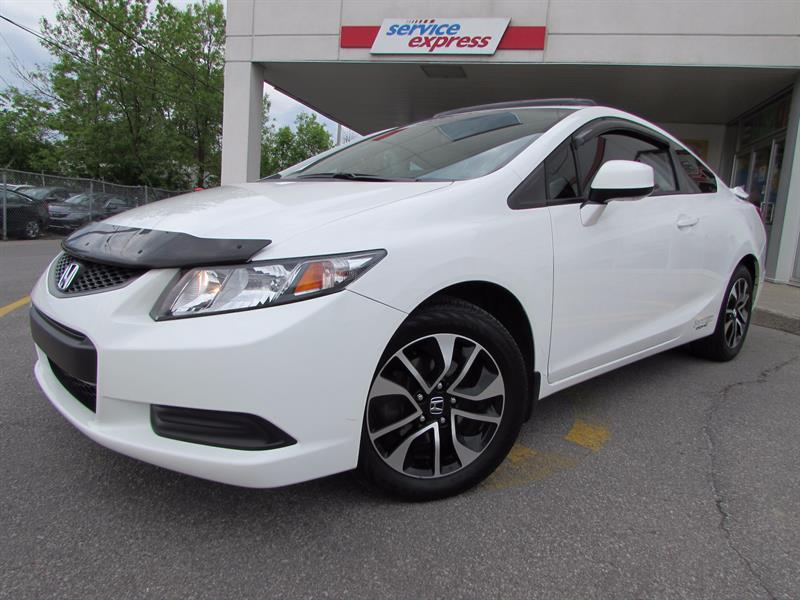 Honda Civic Cpe 2013 2dr Auto EX TOIT OUVRANT CAMERA DE RECULE #317646-1