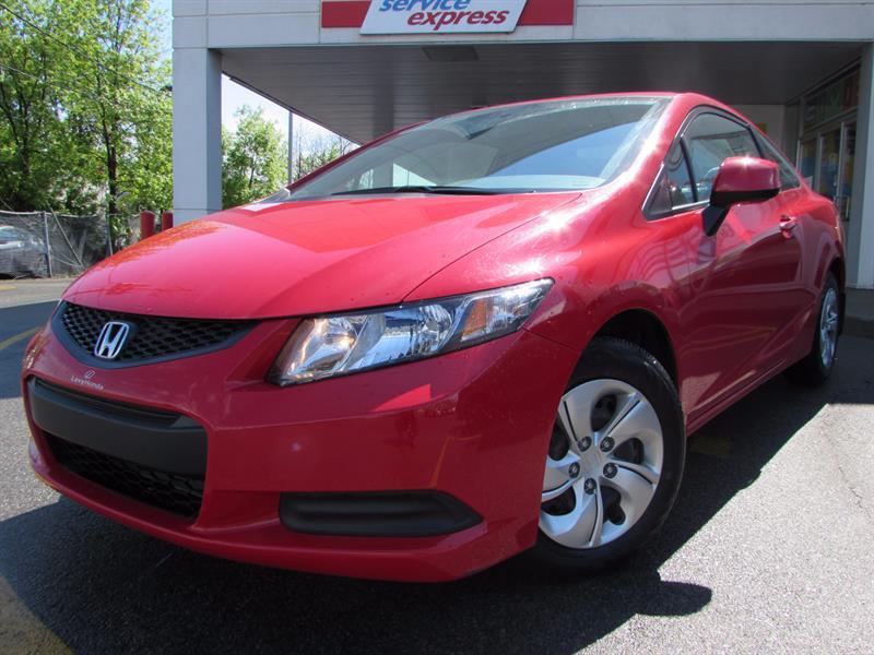Honda Civic Cpe 2013 2dr Auto LX SIEGES CHAUFFANTS BAS KILO  #44101
