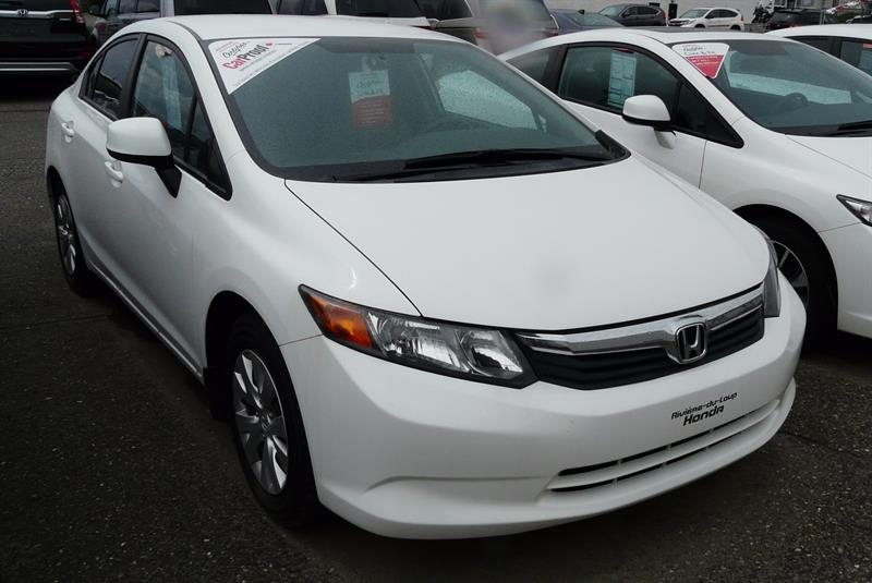 Honda Berline Civic 2012 LX #M4496A
