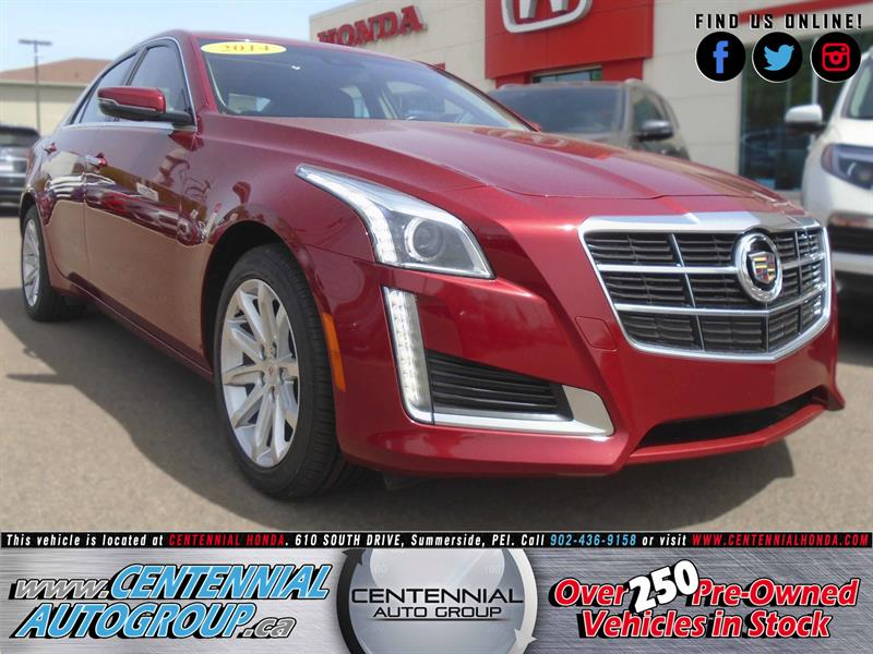2014 Cadillac CTS Sedan 3.6L Luxury AWD #U1531