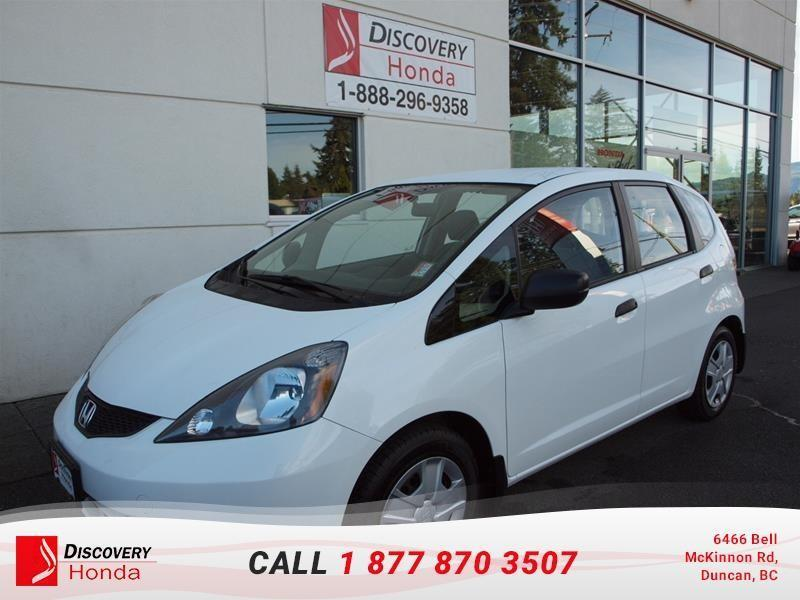 2014 Honda FIT DX-A  - local -  Manual e #16-070A