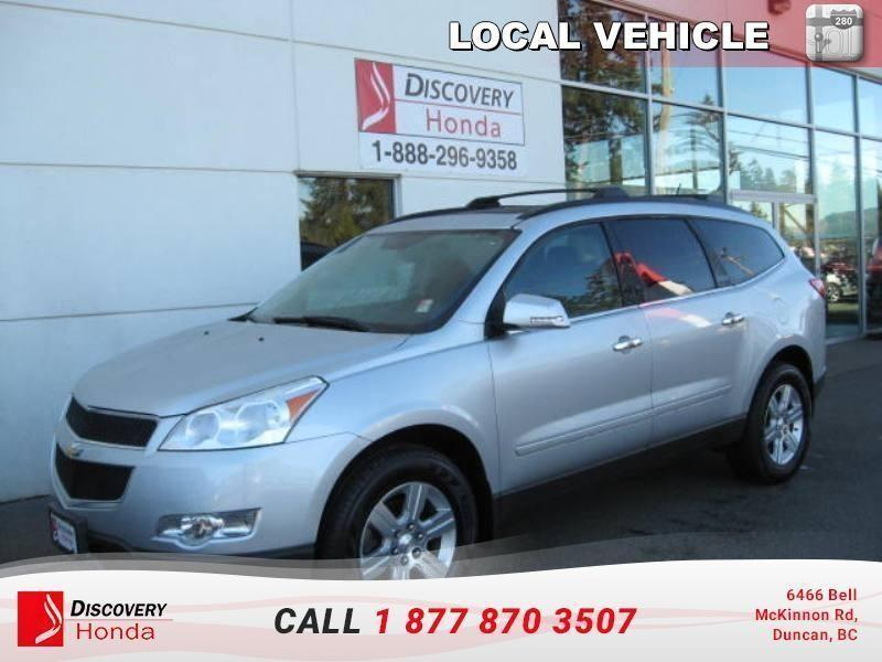 2012 Chevrolet Traverse 1LT AWD 1SB   - one owner #17-209A