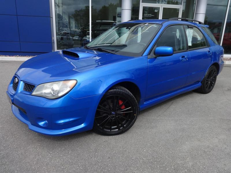 2006 subaru impreza wagon wrx used for sale in lachute at lachute subaru. Black Bedroom Furniture Sets. Home Design Ideas