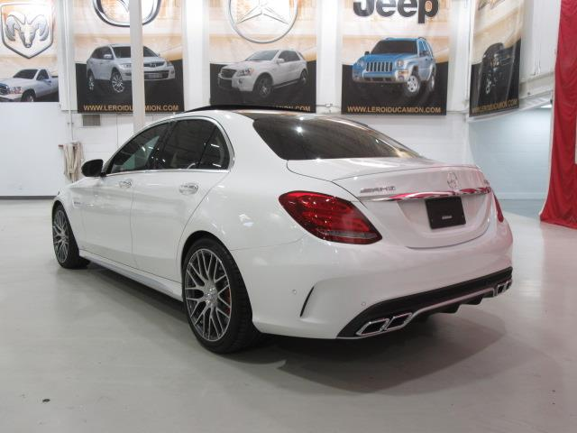 mercedes benz classe c amg c63 s c63s 503hp 2016 occasion. Black Bedroom Furniture Sets. Home Design Ideas