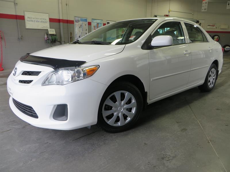 Toyota Corolla 2013 CE Gr: C *AUTOMATIQUE + GROUPE ÉLECTRIQUE #37272A