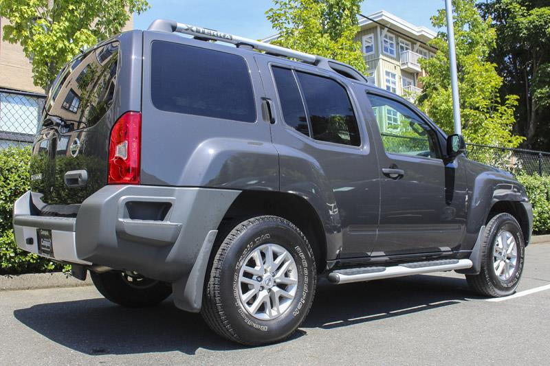 2015 nissan xterra s awd 4x4 used for sale in victoria at campus nissan. Black Bedroom Furniture Sets. Home Design Ideas