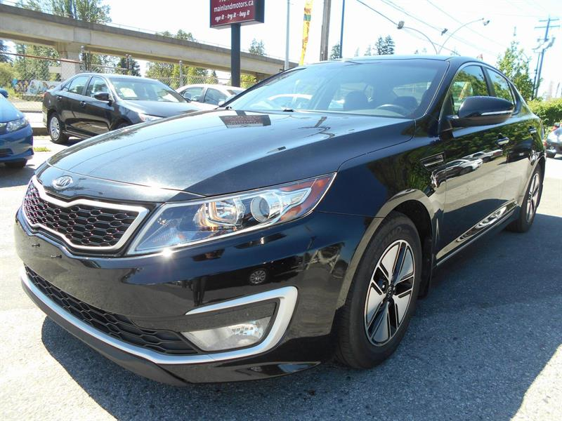 2011 Kia Optima Hybrid Backup Camera #NG4364