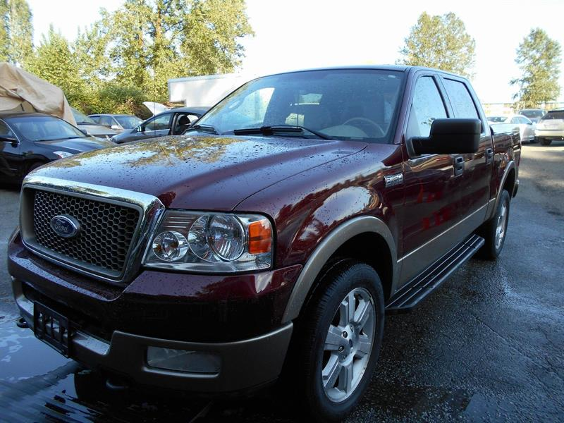 2004 Ford F-150 Lariat CREW CAB 4X4 #NGT7092