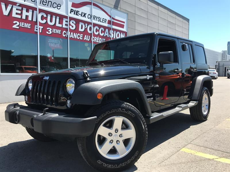 Jeep Wrangler Unlimited 2015 4WD 4dr Sport+**A/C**+MAGS+WOW! #UD4121