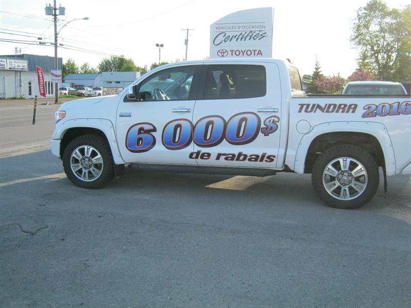 Toyota Tundra 2016 4WD Crewmax 146 5.7L Platinum #11079