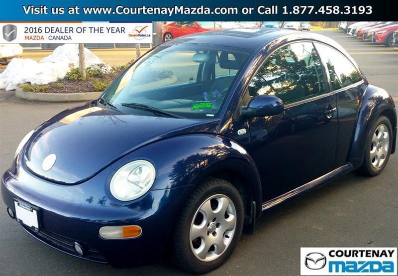 2002 Volkswagen Beetle GLS 2.0L 5sp #16MZ35826B
