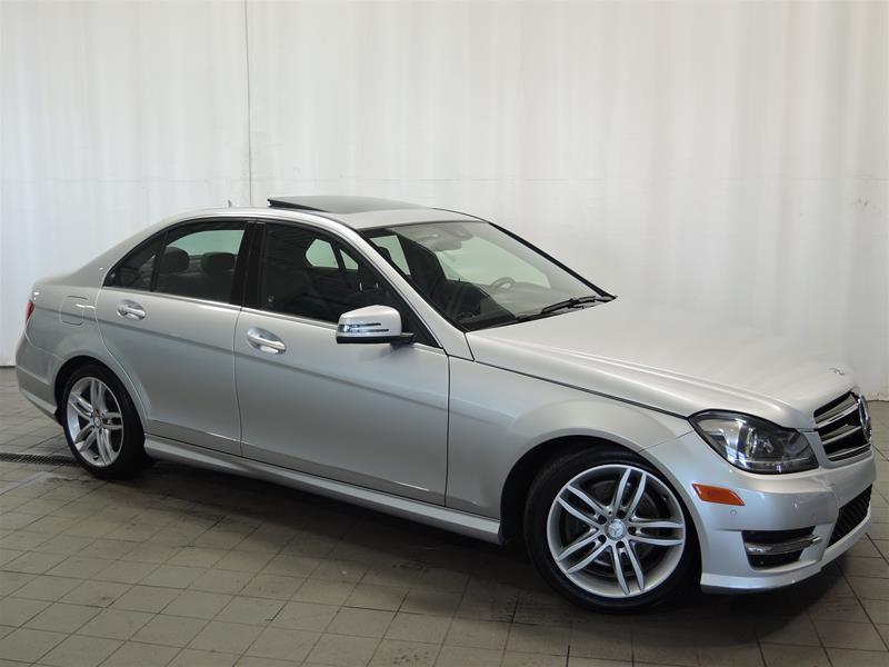 Mercedes-Benz C300 2014 4MATIC Sedan *NAVIGATION - CAMÉRA DE RECUL - BI-XE #U17-189