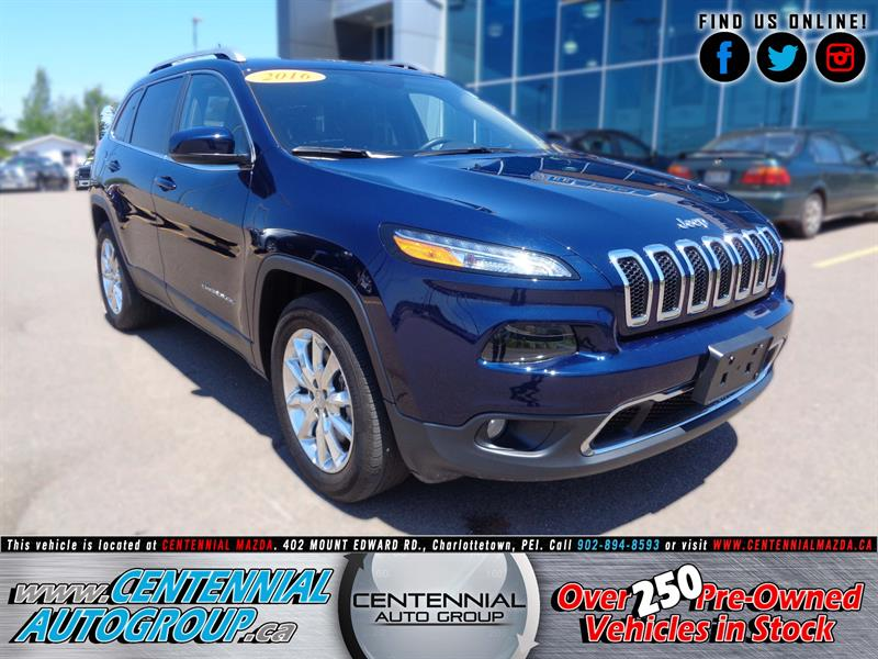 2016 Jeep Cherokee 4WD 4dr Limited #U959