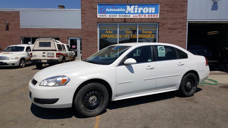 Chevrolet Impala Police 2012 4dr Sdn Police Pkg #210117