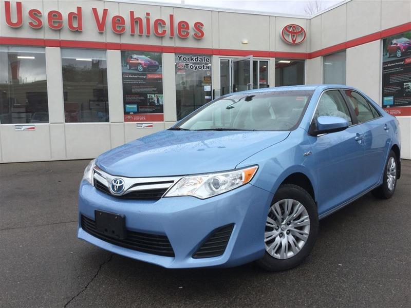 2013 Toyota Camry Hybrid ****SOLD SOLD SOLD**** LE HYBRID, KEYLESS ENTRY #P6276