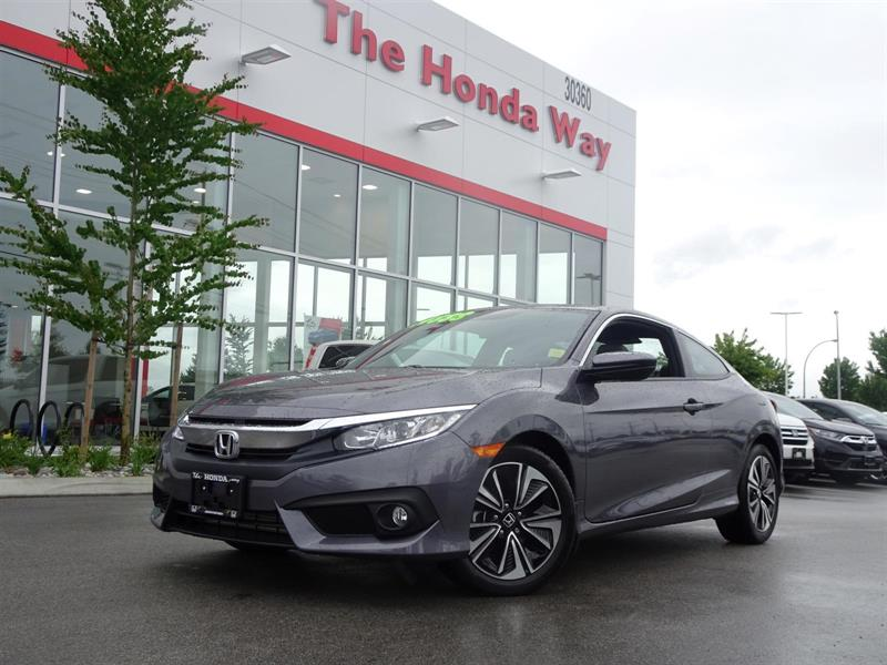 2017 Honda Civic Coupe EX-T #P4996