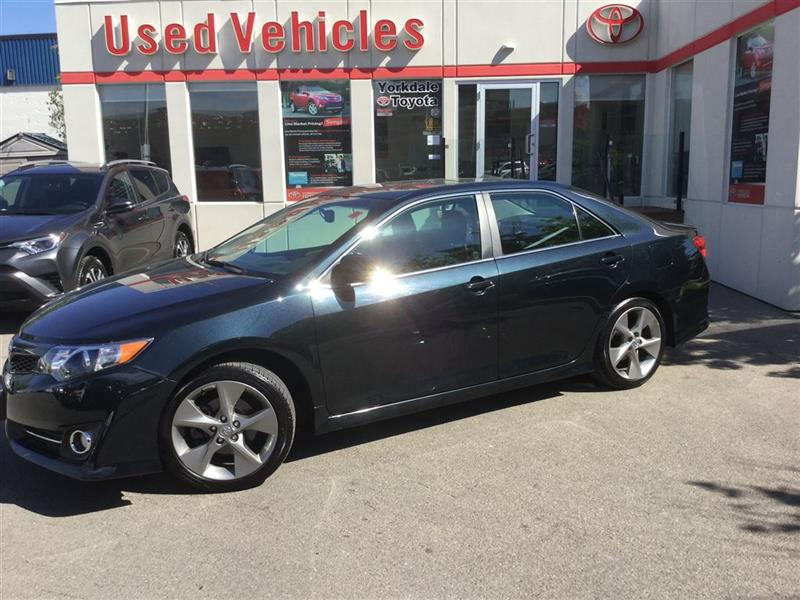 2013 Toyota Camry SE, Leather, Sunroof, Navi, Push Button #7847667A