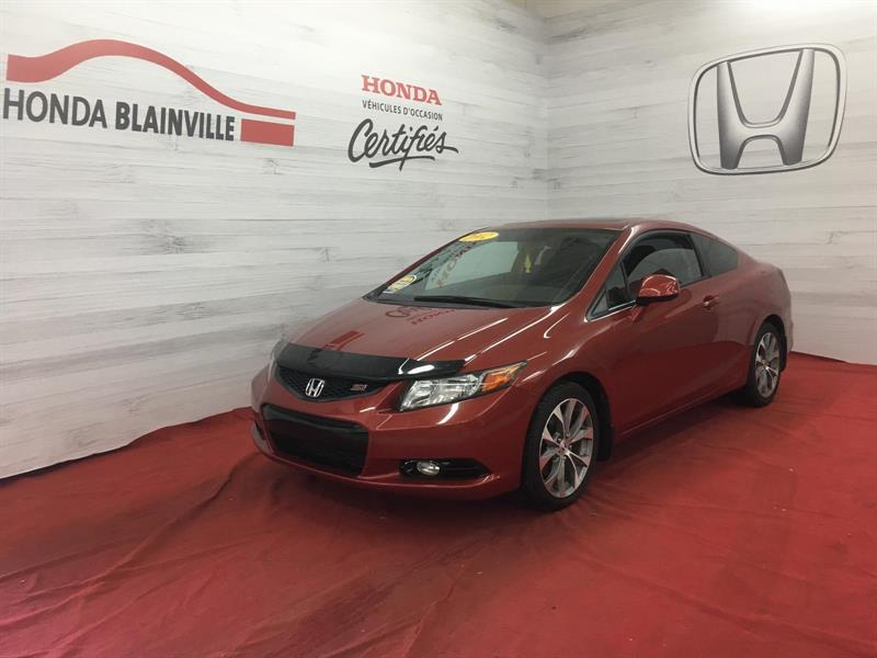 Honda Civic Coupe 2012 Si #171007A