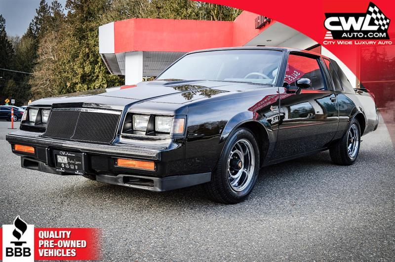 1986 Buick Regal Grand National  #7535