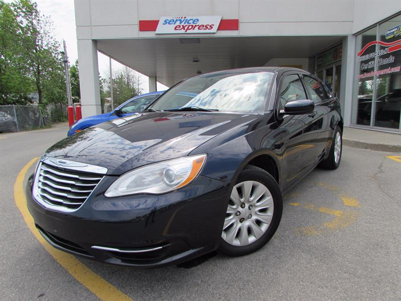 Chrysler 200 2012 4dr Sdn LX BLUETOOTH #317132-1