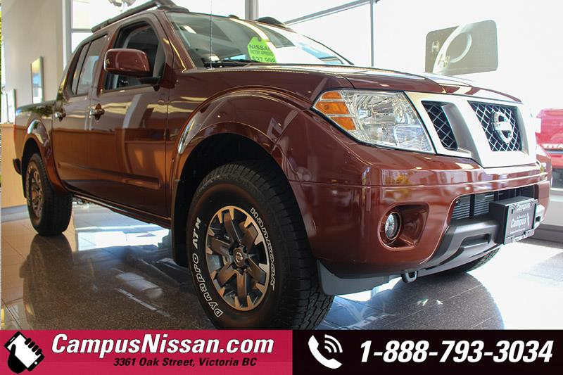 2017 Nissan Frontier 4WD Crew Cab PRO-4X #7-T455