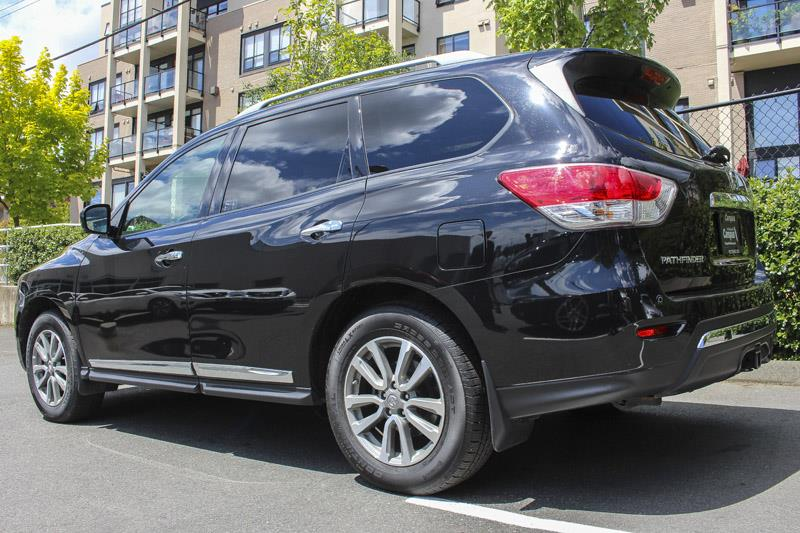 2016 nissan pathfinder sl premium tech used for sale in victoria at campus acura. Black Bedroom Furniture Sets. Home Design Ideas