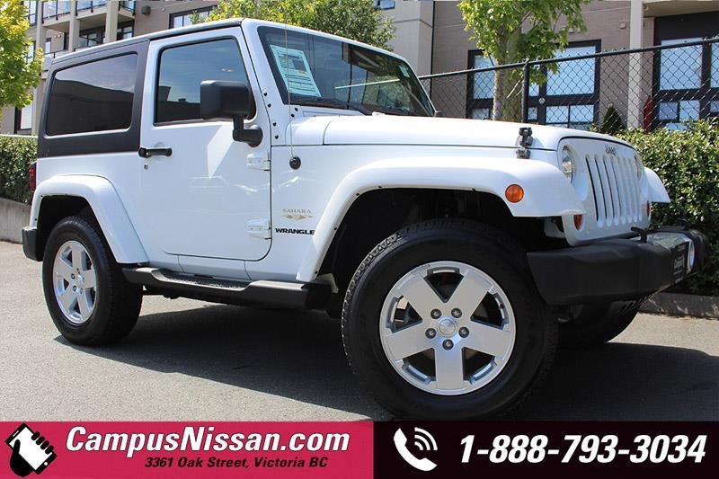 2011 Jeep Wrangler 2D Sahara 4x4 #JN2586