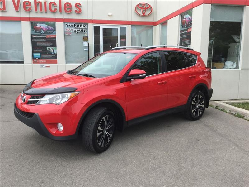 2015 Toyota RAV4 AWD, XLE, 50TH ANNIVERSARY, ALLOYS, SUNROOF, CAMER #P6499