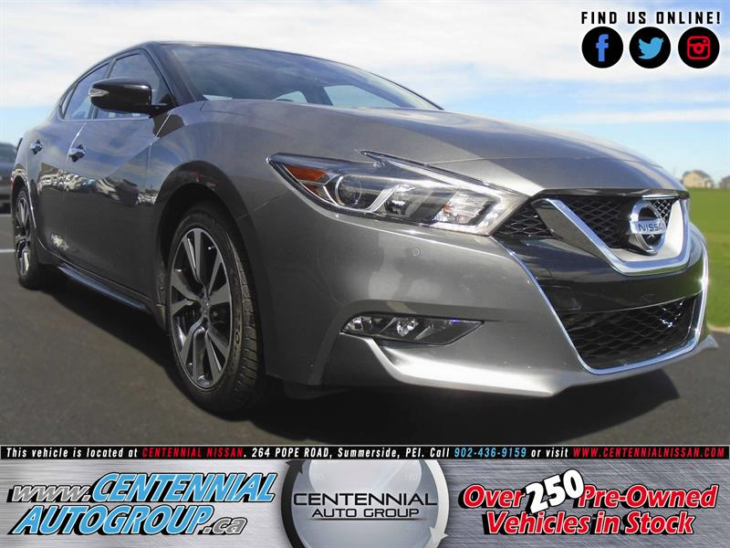 2017 Nissan Maxima SL | REDUCED | Performance & Comfort | #SP17-018