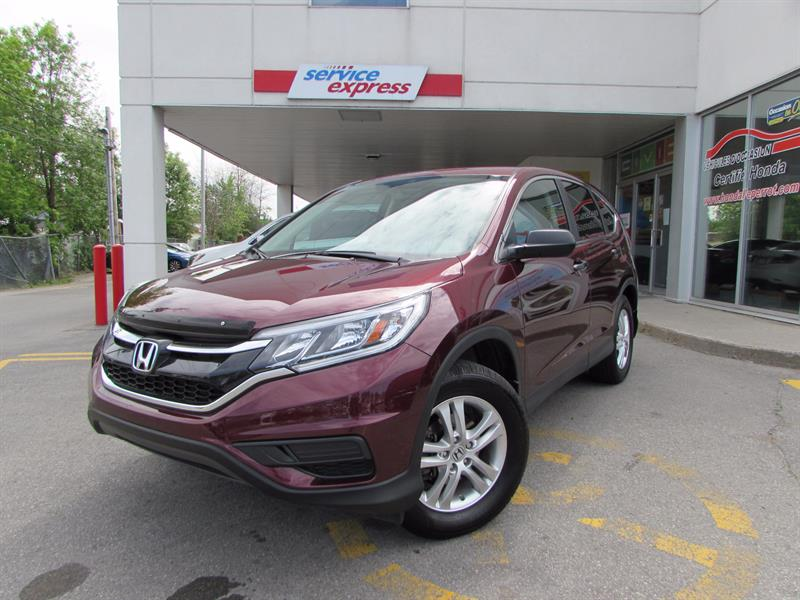 Honda CR-V 2015 AWD 5dr LX BLUETOOTH SIEGE CHAUFFANT #44118