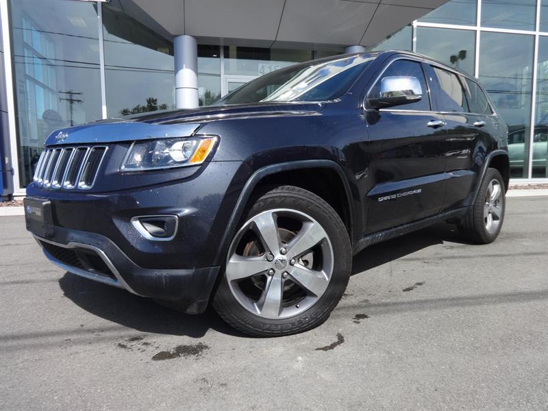 Jeep Grand Cherokee 2014 CUIR , TOIT OUVRANT ,GPS Limited #17-190A