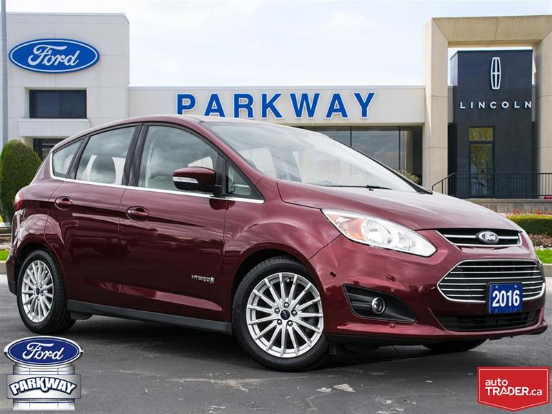 2016 Ford C-max SEL| LEATHER| GPS| BLUETOOTH| HEATED SEATS #C6920A