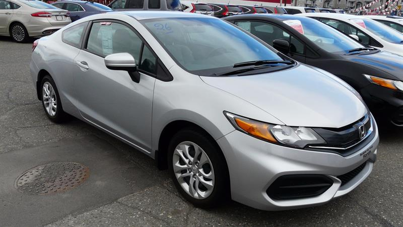 Honda Civic Coupé 2014 2dr CVT LX #C4740A