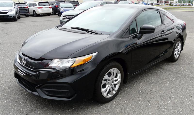 Honda Civic Coupé 2015 2dr Man LX #U-2988