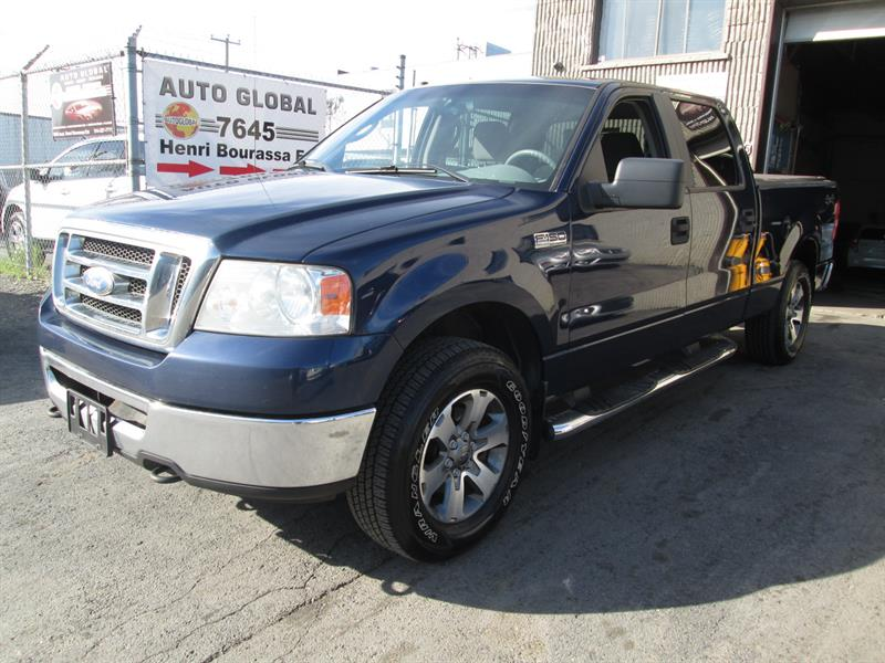 Ford F-150 2008 4WD SuperCrew XLT,(143 000)KM #17-500