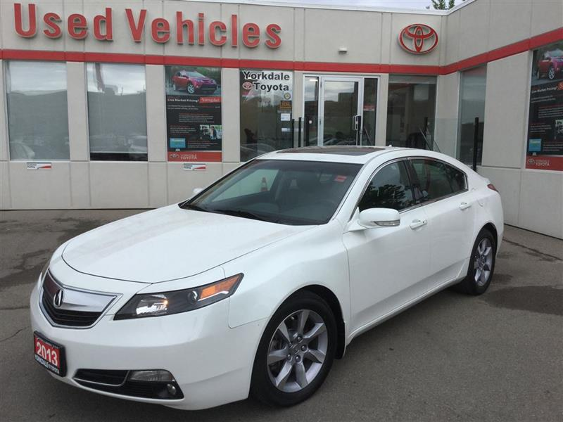 2013 Acura TL Technology Package, Navi, Leather, Sunroof, Camera #P6487