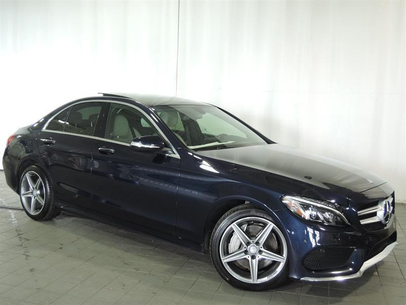 Mercedes-Benz C300 2015 4MATIC Sedan CERTIFIÉ 0.9% #U17-191