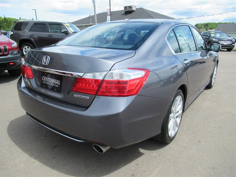 2014 Honda Accord Sedan Touring   Leather   Navigation   Backup Camera Used  For Sale In Charlottetown At Centennial Certified Of Charlottetown