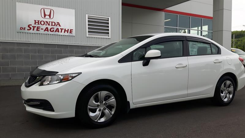 Honda Civic 2013 LX Auto - Bluetooth, USB, Cruise, Groupe élect. #h114a